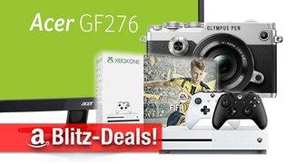 Blitzangebote: Xbox One S Bundle, Acer Gaming-Monitore, Olympus PEN-F nur heute zum Bestpreis