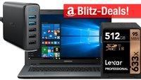 Blitzangebote: 512 GB SDXC, Medion Gaming-PC, Quick-Charge-Ladegerät u.v.m. stark reduziert