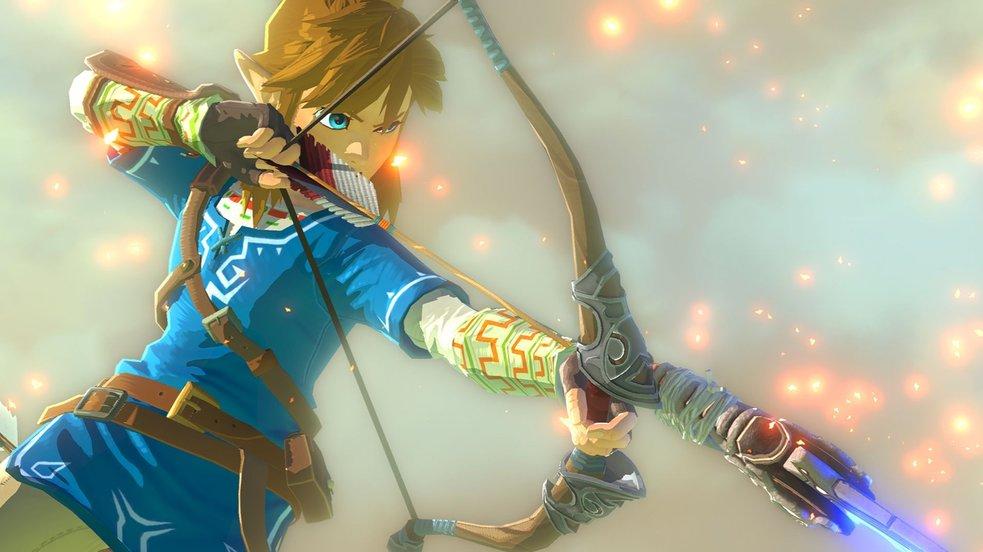 Zelda: Breath of the Wild belegt fast die Hälfte des Switch-Speichers
