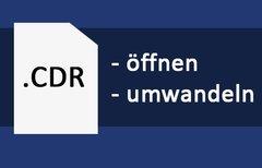CDR-Datei öffnen & umwandeln...