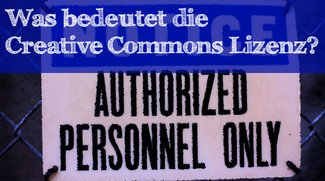 Was bedeutet die Creative Commons Lizenz?
