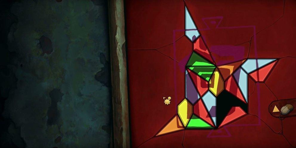 So soll das Mosaikstück später aussehen.