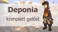 Deponia: Komplettlösung mit Trophäen-Leitfaden