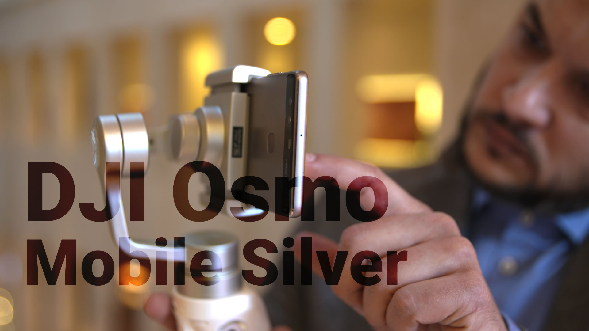 Dji Osmo Mobile Silver Im Hands On Anti Wackel Stativ Fr Smartphone Kameras Angeschaut Giga
