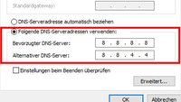 DNS-Server ändern (Windows & Fritzbox) – so geht's