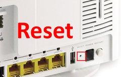 Easybox-Reset (zurücksetzen)...