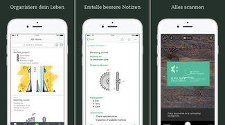 Evernote für iOS: Update bringt komplett neues, simpleres Design