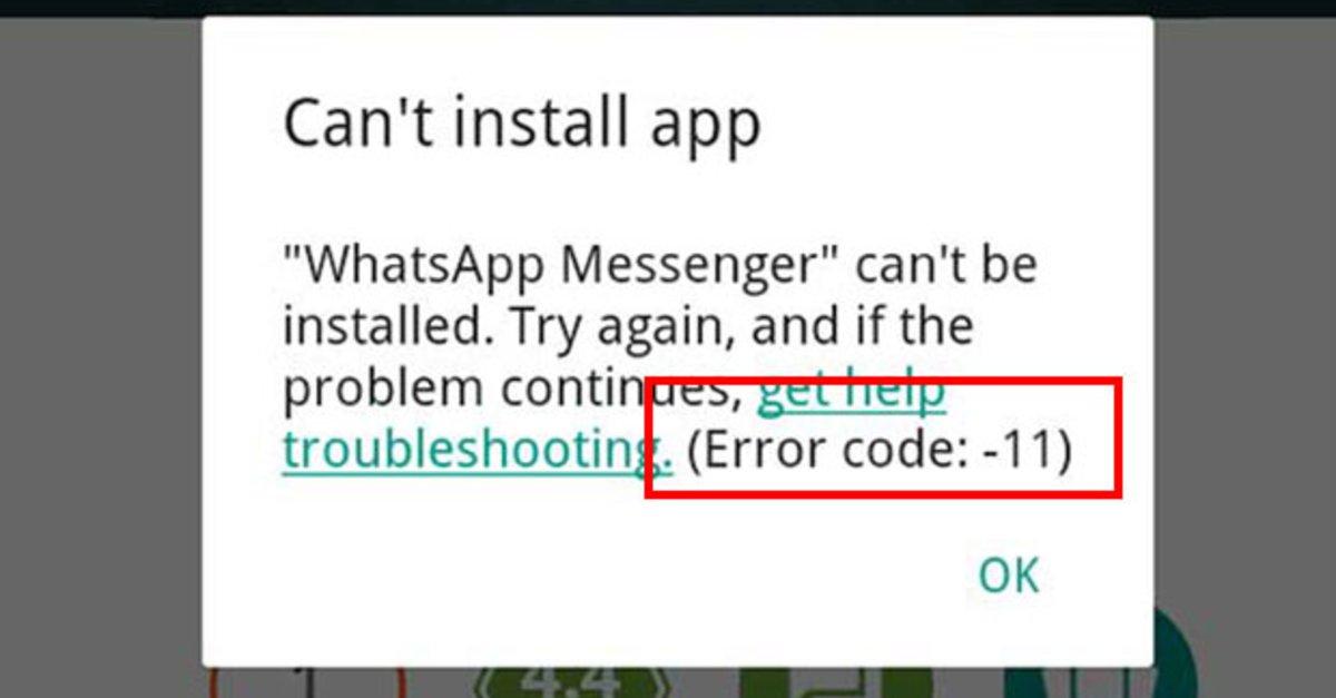 android app lässt sich nicht installieren