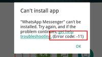 Lösung: Fehlercode 11 im Play Store – App lässt sich nicht installieren