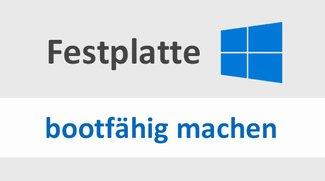 Festplatte bootfähig machen – so geht's