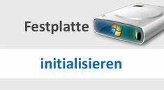 Festplatte initialisieren: Bedeutung und wie es funktioniert