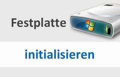 Festplatte initialisieren:...