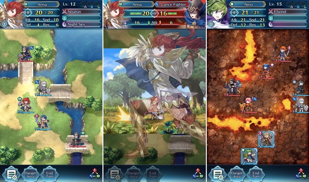 fire emblem heroes screenshots