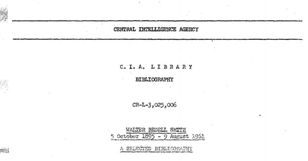 CIA stellt 12 Millionen deklassifizierte Geheimakten online
