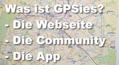 Was ist eigentlich GPSies?
