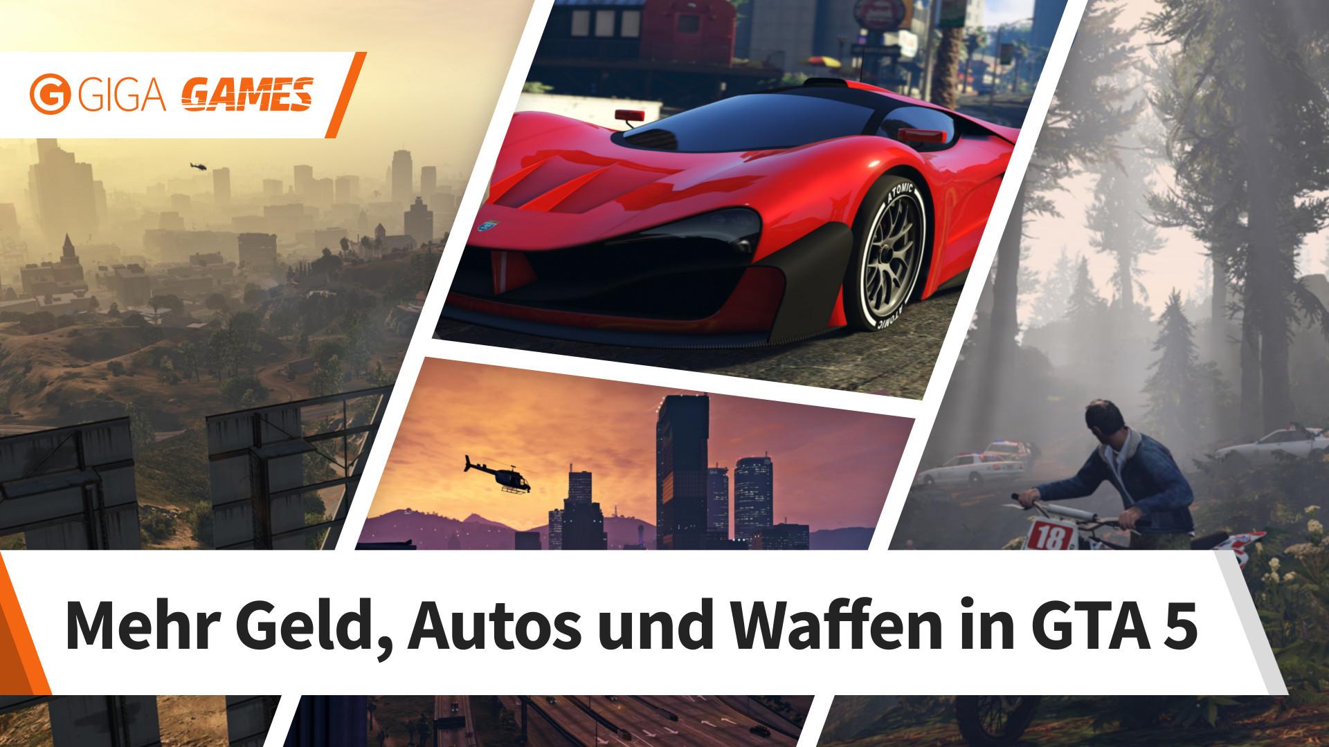 GTA 5: Alle Cheats für PC, PS3, 360, PS4 und Xbox One auf