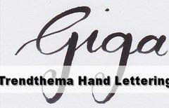 Hand Lettering lernen, Kurse,...