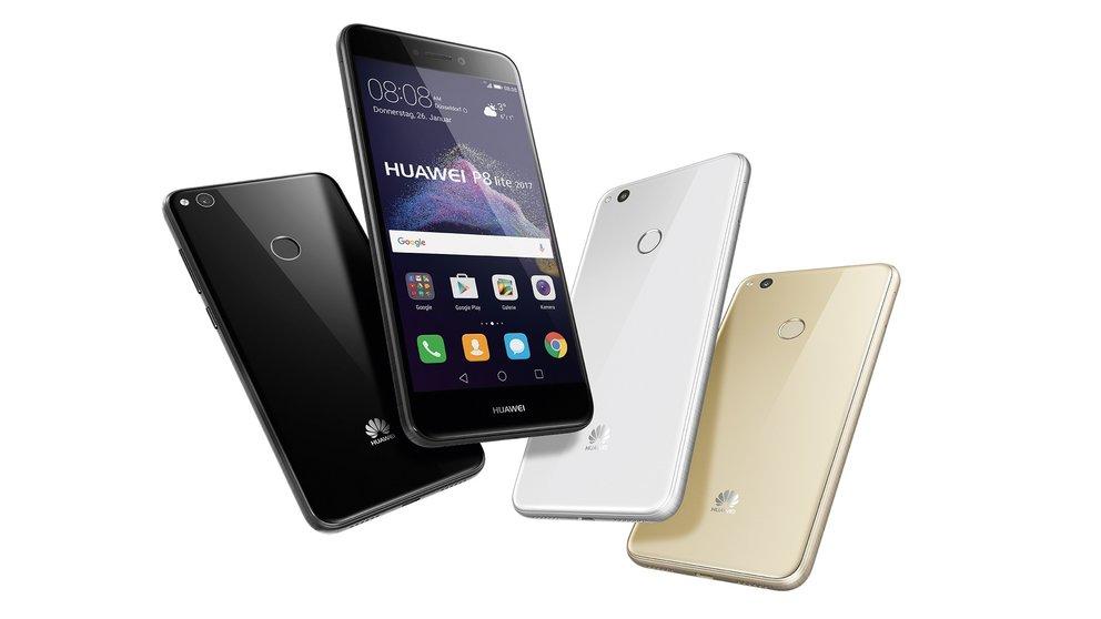 Tarif-Tipp: Huawei P8 Lite 2017 inklusive Allnet-/SMS-Flat & 3 GB LTE für 14,99 € pro Monat