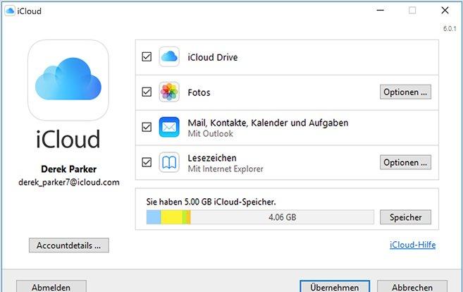 iCloud-für-Windows