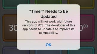 Nahendes Aus für alte Apps: iOS 10.3 warnt bei 32-Bit-Anwendungen