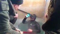 Russland: iPhone 7 übersteht 13 Stunden in zugefrorenem Fluss