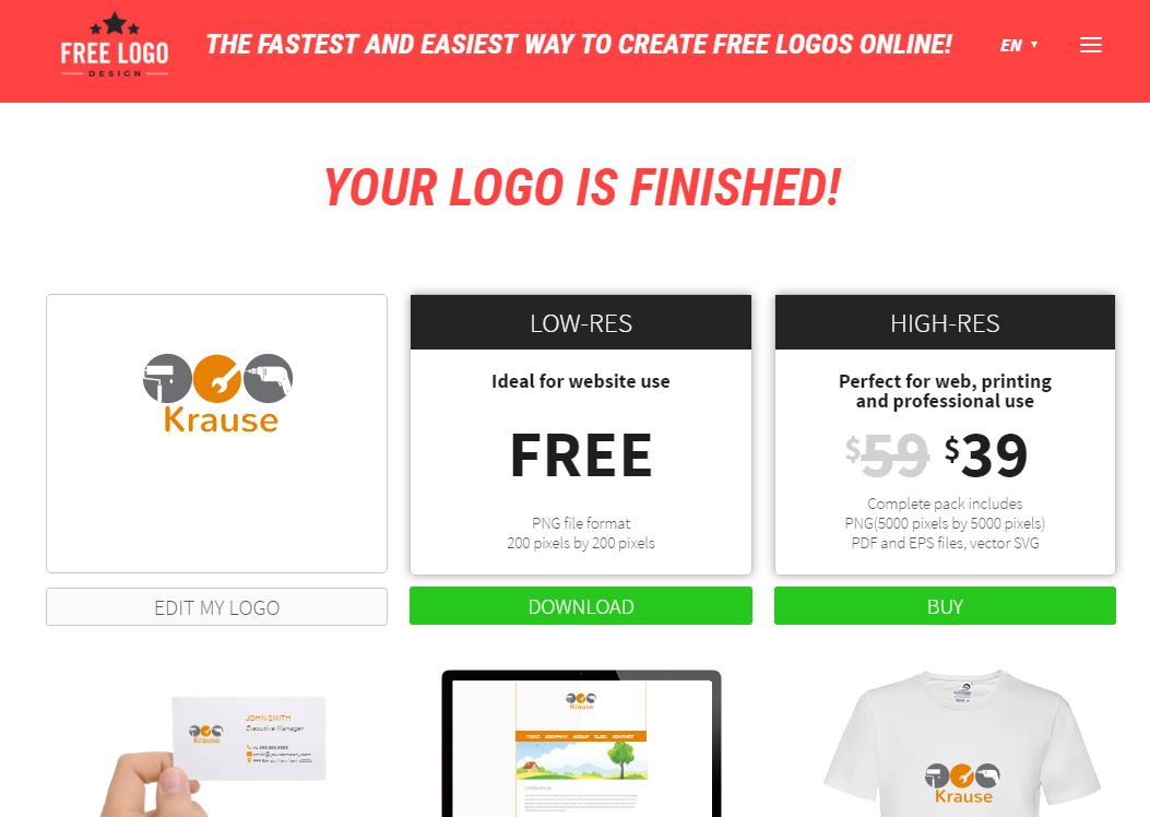 Der beste kostenlose Logo-Generator – Unsere Tipps – GIGA