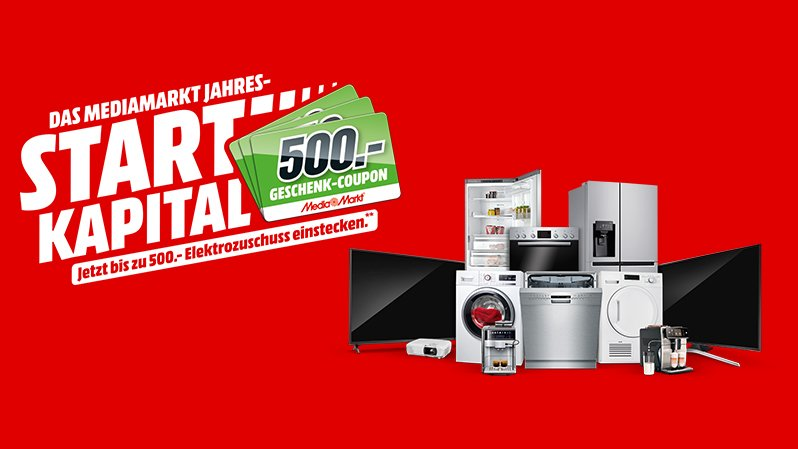 MediaMarkt Jahres-Startkapital: Für wen lohnt sich die Aktion mit bis zu 500 € Zuschuss?