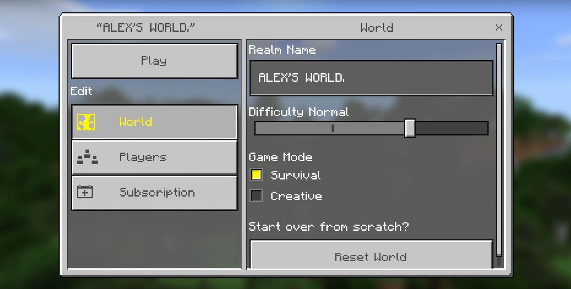 Minecraft Realms Kosten Mods Und Infos Zum Server GIGA - Minecraft namen andern auf server