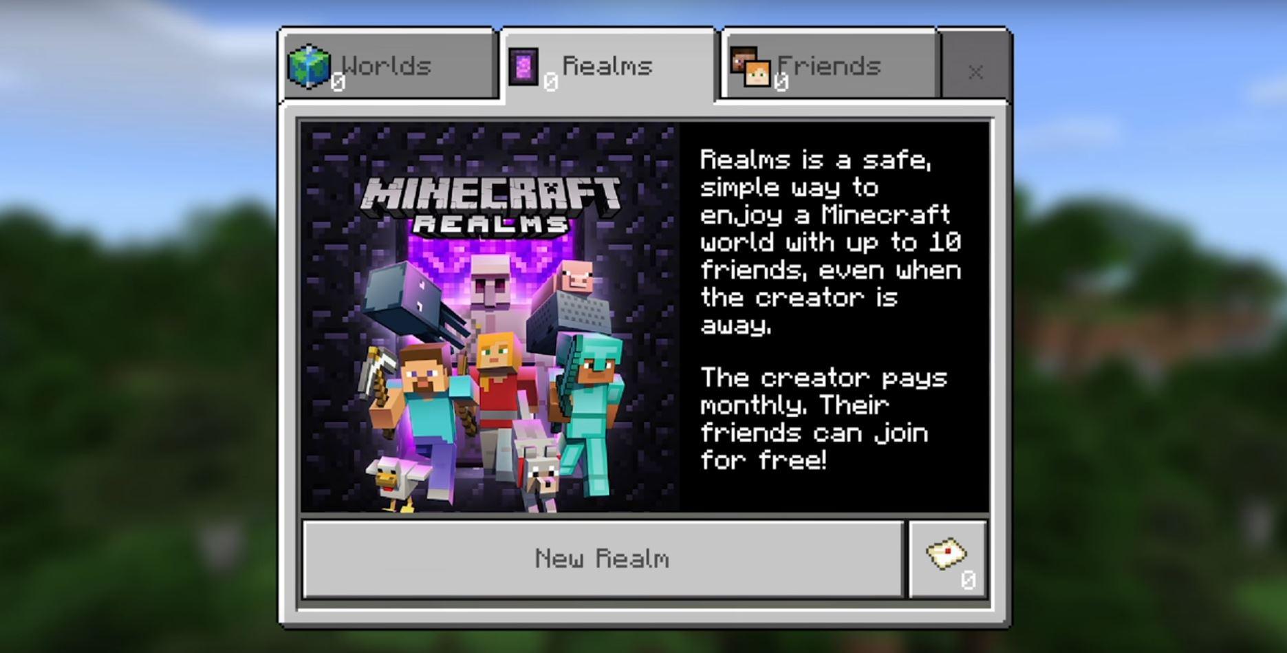 Minecraft Realms Kosten Mods Und Infos Zum Server GIGA - Minecraft zusammen spielen ohne server