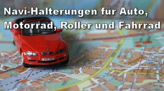Tipp: Navi-Halterung für jedes Fahrzeug