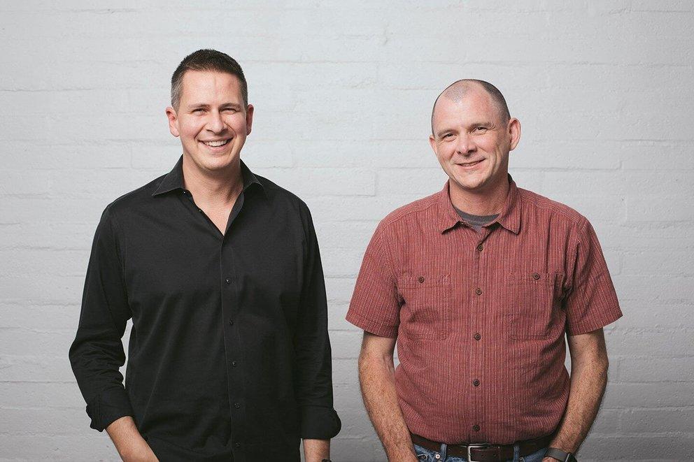 Der neue und der alte Sonos-Chef: Patrick Spence (links) und John MacFarlane (Quelle: Sonos)