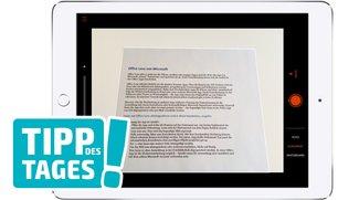 Office Lens kostenlos von Microsoft: Dokumente abfotografieren und in Word bearbeiten