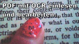 PDF: OCR nutzen und Text bearbeiten
