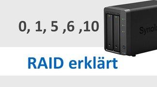 Raid 0, 1, 2, 5, 6, 10 und SHR – Unterschiede & Vergleich (einfach erklärt)