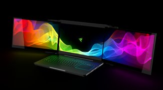 Razer Project Valerie: Dieses Monster-Notebook hat drei 4K-Displays