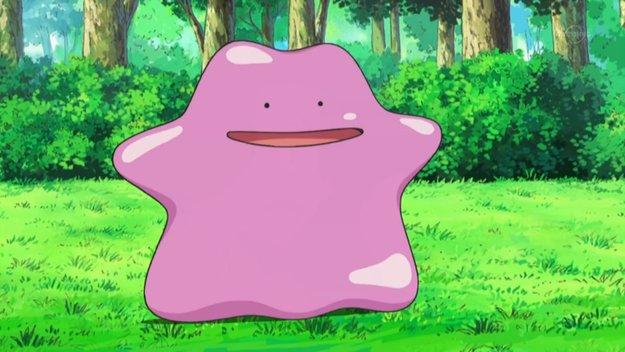 Dieses riesige Ditto-Kissen kannst Du ab jetzt im Pokémon Center Online jagen