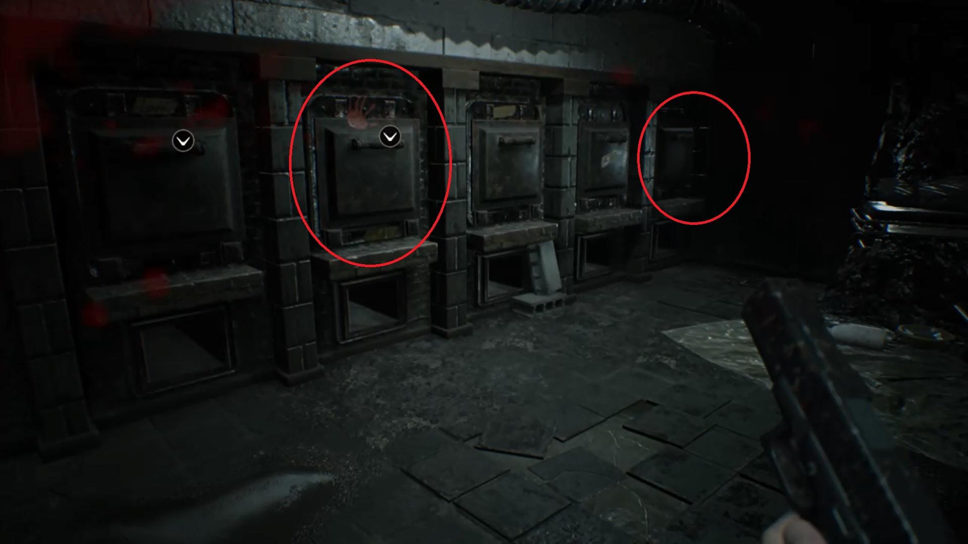 resident evil 7: hundeköpfe und zerlegungsraum-schlüssel finden – giga, Esszimmer dekoo
