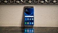 Galaxy S8: Samsung-Logo wird per Software auf dem Display dargestellt
