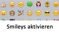 iPhone-Smileys aktivieren (auch iPad) – so könnt ihr Emojis nutzen