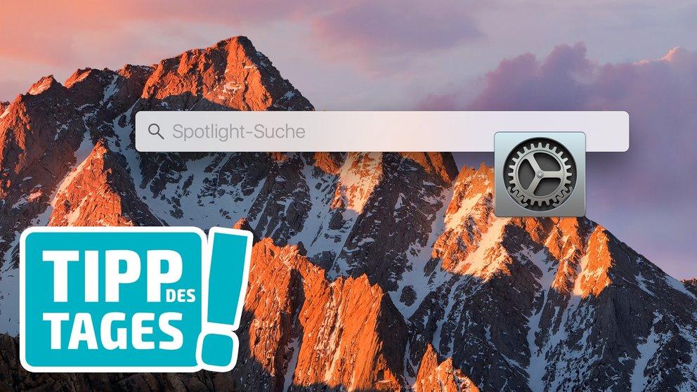 Spotlight von macOS: Daten und Ordner in der Suche ausschließen, so gehts
