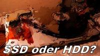 SSD oder HDD – Unterschied - Was ist besser?