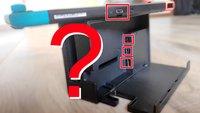 Nintendo Switch (OLED): Anschlüsse von Konsole und Dock