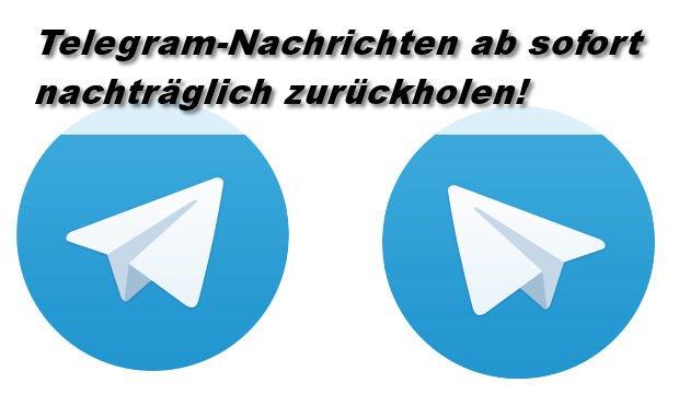 Telegram lässt euch Nachrichten nachträglich löschen!
