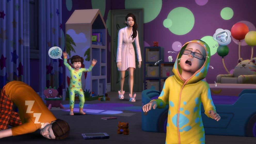 Jetzt auch mit Kleinkindern: Die Sims 4.