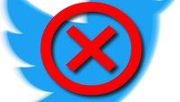 Twitter-Account löschen: So gehts in App und Browser