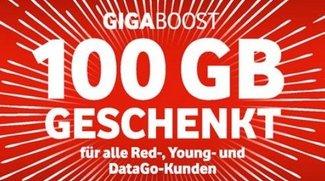 GigaBoost: Vodafone schenkt euch 100 GB Datenvolumen