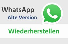 WhatsApp: Alte Version...