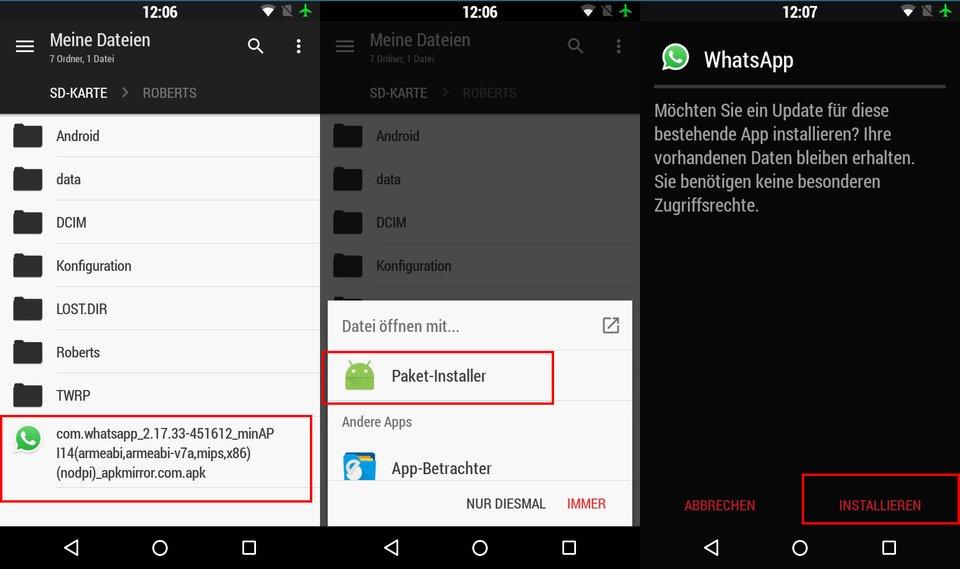 Whatsapp Alte Version Wiederherstellen Iphone