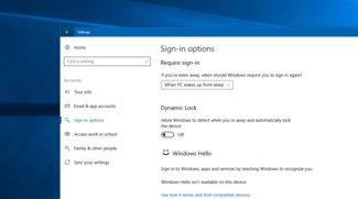 "Windows 10: ""Dynamic Lock"" sperrt PC bei Abwesenheit automatisch"