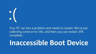 Lösung: Windows 10 – INACCESSIBLE BOOT DEVICE (Fehlermeldung)